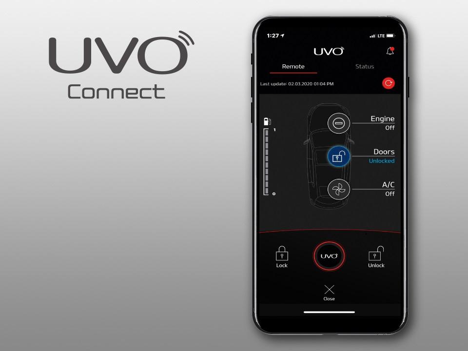 Приложение UVO Connect