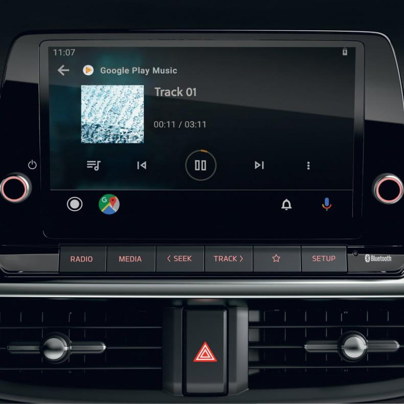 8-дюймовый экран аудиосистемы