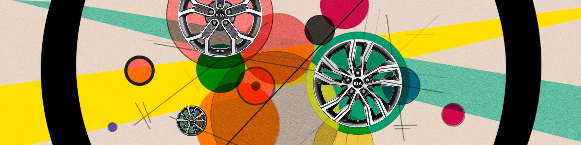 Оригинальные диски и шины