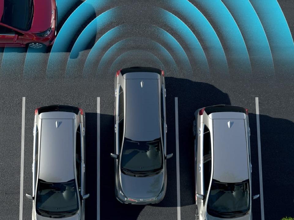 Система помощи при выезде с парковки задним ходом