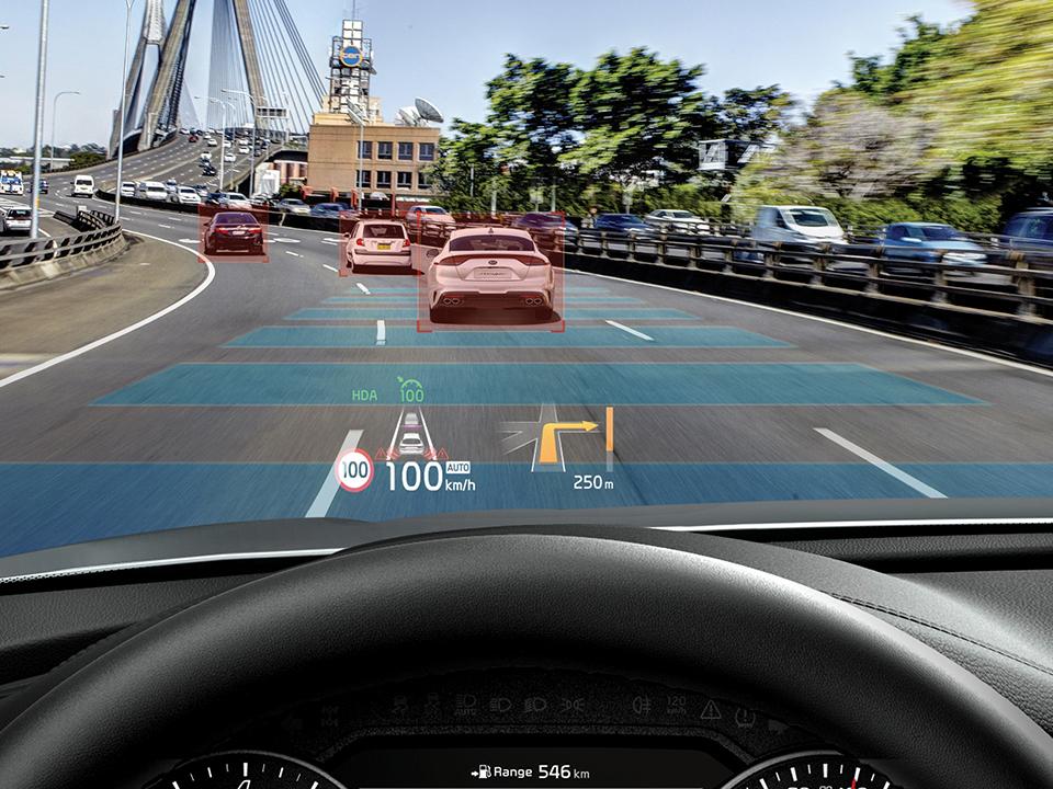Asistent de conducere pe autostradă (HDA)
