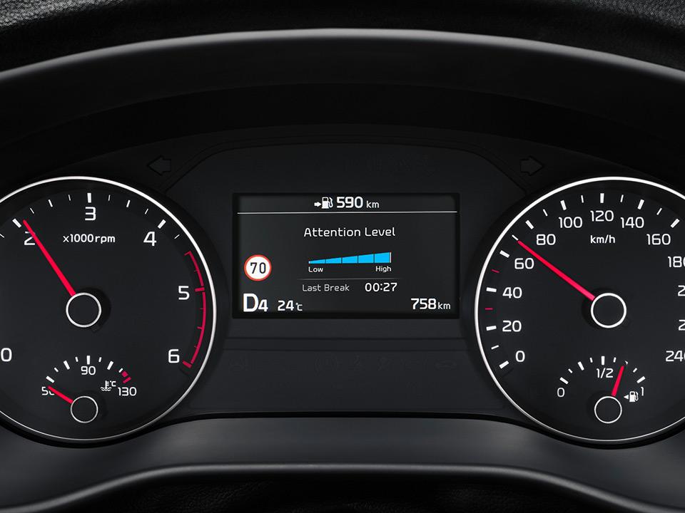 Sistemul de notificare a oboselii conducătorului auto (DAW)